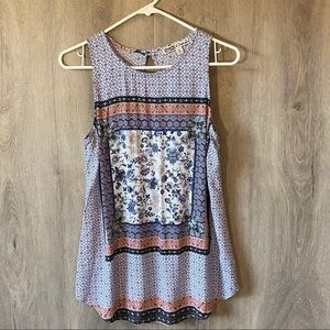 gypsies and moondust size medium womens top
